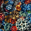 "<center><h2>'Handles of Color '</h2> Atlanta, GA - ©2012  Matted 16""x20""  On Premium Luster Photo Paper</center>"