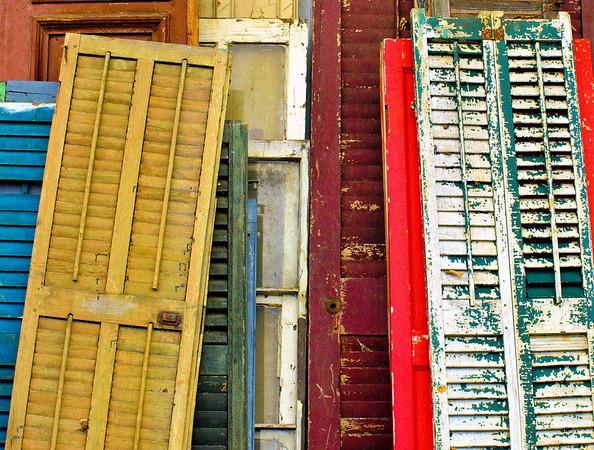 <center><h2>'Shutters Galore'</h2> Scott's Antiques, Atlanta, GA</center>