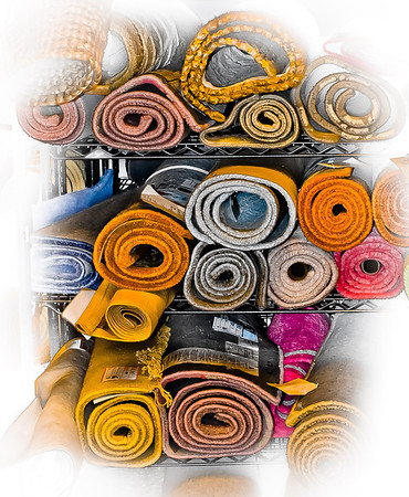 "<center><h2>' Carpet Sale '</h2> Dawsonville. GA  12""x16"", on Fine Art Paper  or Luster Photo paper (12 mil) </center>"