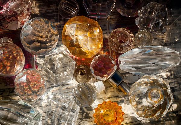 "<center><h2>'Knobs of Glass'</h2> Atlanta, GA - ©2012  Matted 16""x20""  On Premium Luster Photo Paper</center>"
