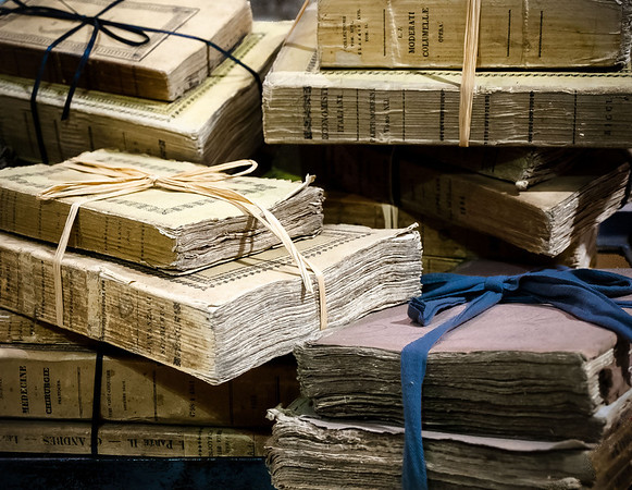 "<center><h2>'Books Recovered'</h2> Scott's Antiques Atlanta, GA - ©2012  Matted 16""x20""  On Premium Luster Photo Paper</center>"