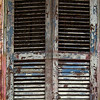 <center><h2>' French Quarter Color - 31 '</h2> 'Worn Shutters'  New Orleans, LA</center>