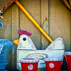 "<center><h2>' Chicken in Every Pot '</h2> Crabapple, Georgia  12""x16"" on 13""x19""  Premium Luster Photo Paper Edition of 25</center>"