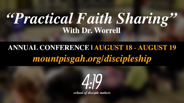Practical Faith Sharing - With Dr. Worrell  08-18-19-2017