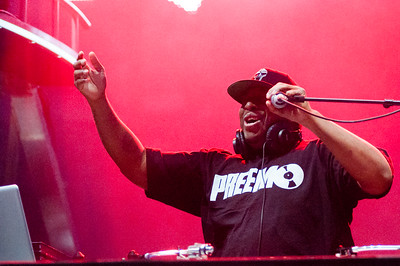DJ Premier performs at Red Rocks on May 17, 2016. Photos by Andrew Bisset, heyreverb.com.