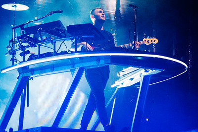 Disclosure performs at Red Rocks on May 17, 2016. Photos by Andrew Bisset, heyreverb.com.