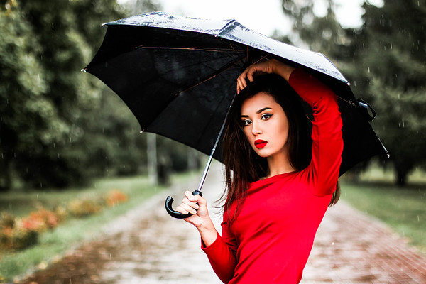 Senior Pictures in the Rain - Fort Collins Photographers