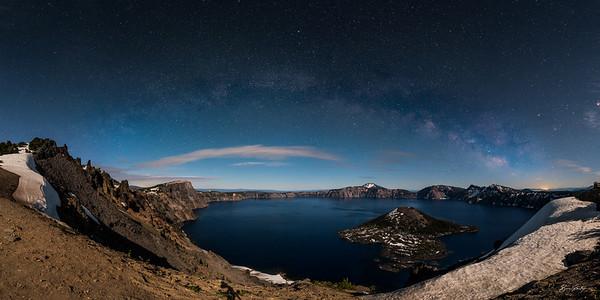 Moonlit Crater