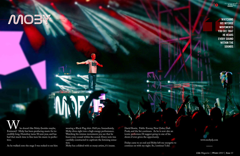 MOBY - Like Magazine issue 013