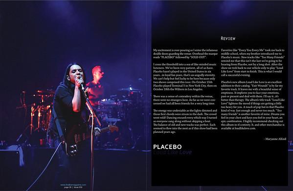 Placebo - Like Magazine, issue 009