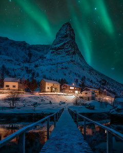 Aurora in Lofoten Islands