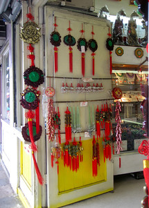 Colorful ChinaTown treasures, Honolulu, Hawaii