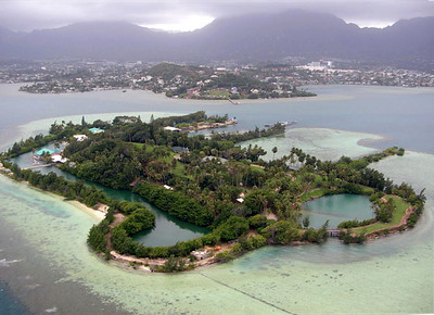 Coconut Island Aerial File Photo from Wikipedia
