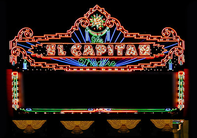 Neon, El Capitan Theater, Hollywood, California