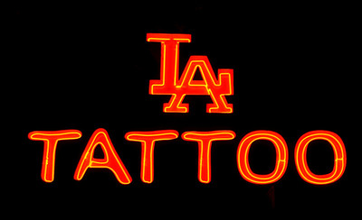 Neon LA Tattoo  Hollywood, California