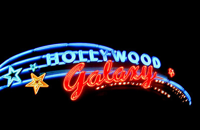 Neon Hollywood Galaxy  Hollywood, California