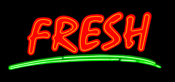 Neon Red Fresh  Hollywood, California
