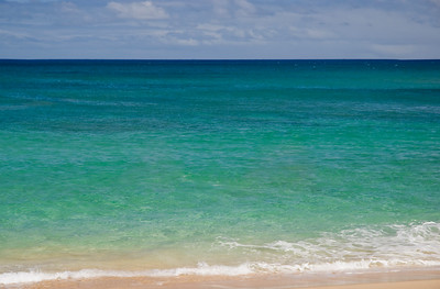 Sunset BeachCalm summer sea North Shore, O'ahu, Hawai'i  071807.093839