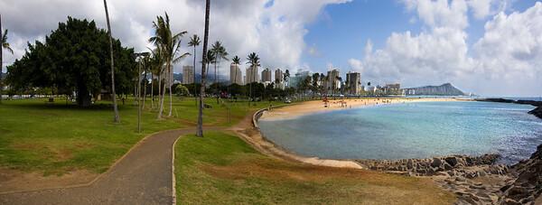 Ala Moana Beach Park, Honolulu, Hawaii