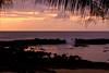Sunset at Shark's Cove<br /> <br /> April,<br />  North Shore of O'ahu, Hawai'i