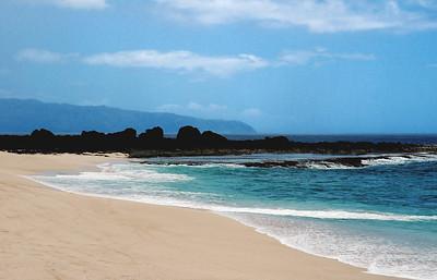 Shark's Cove, Keiki Beach North Shore, O'ahu, Hawai'i  05/27/04
