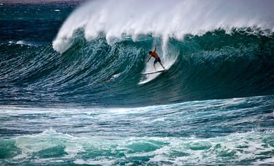 Surfing SunsetNorth Shore, O'ahu, Hawai'i   November, 2007  071114.121030470