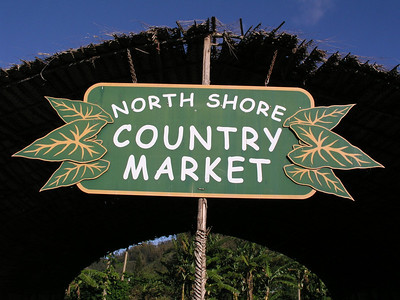 North Shore Country Market sign