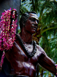 Statue of Duke   Kuhio Beach, Waikiki