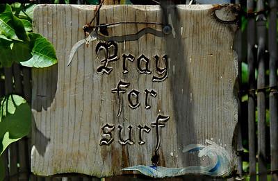 Pray for Surf North Shore Oahu, Hawaii Summer 2004