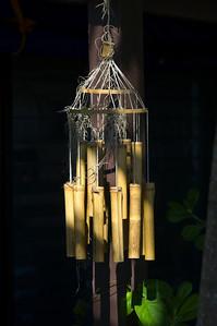 Bamboo wood chimes