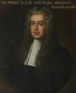 Thomas Walker (1702-1764), Fellow (1722-1740)