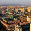 A panorama of colorful Pyongyang from top of the Juche Tower