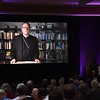 """Bishop Robert Barron spoke to participants via video. His topic: Pope Francis: Reconnecting the Church to the Second Vatican Council."""""""