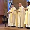 Fr. Tom Knoebel leads Solemn Vespers