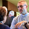 Fr. Tomasz Flak, an SCJ from Poland at SHSST for ESL studies, assisted with Italian translation
