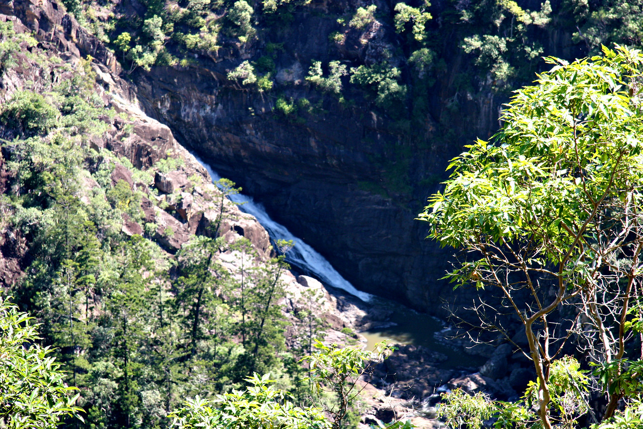Stehbens Chute, Yabba Falls from Black Gully Pocket, Queensland Australia