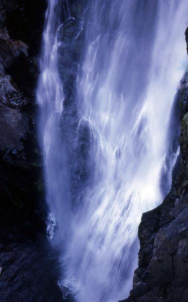 Yabba Falls Top Plunge, Baiyambora Gorge, Queensland, Australia