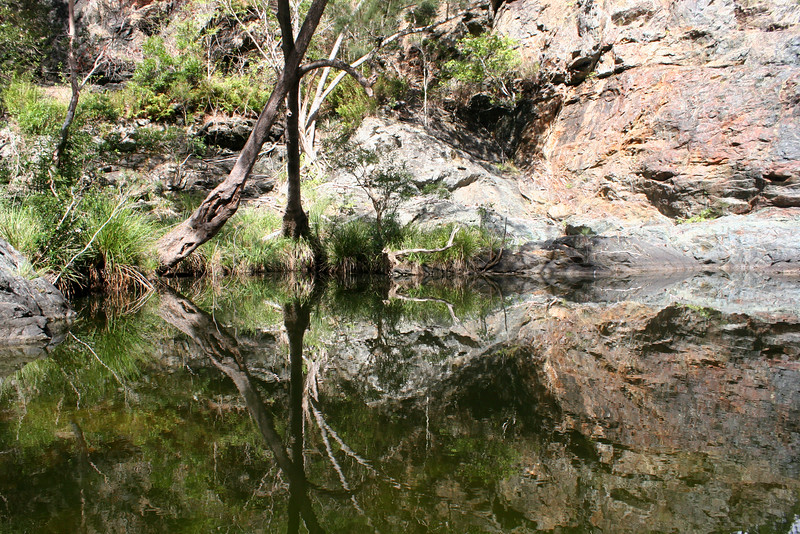 Ochre Falls Pool, Kingaham Gorge