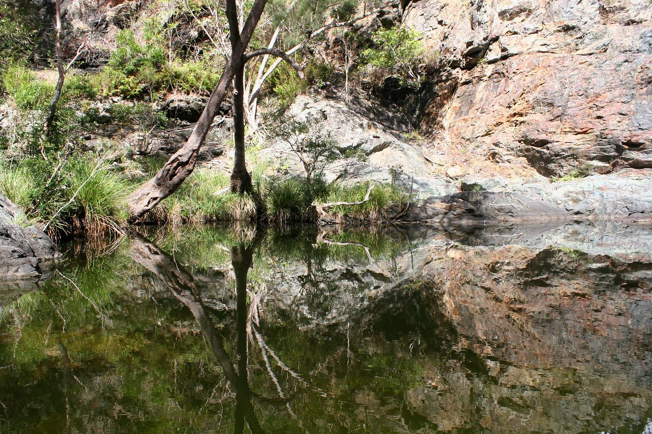 Ochre Falls Pool, Kingaham Gorge