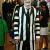 Jason Lobe as Beetlejuice.  That's tape all over him!