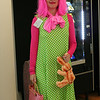 "Katarina as Strawberry Shortcake's crazy cousin, ""Wacky Watermelon""."