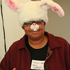 Michelle Escumbize as a rabbit.