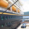 Disney Wonder seen from the gangway