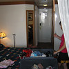Our room aboard ship