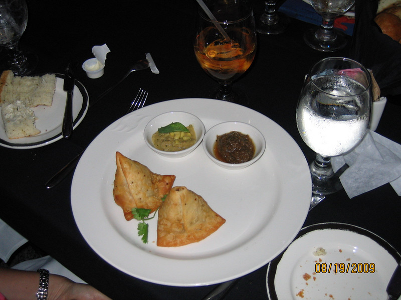 Spicy Potatoe and Pea Samosas
