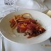 Seared Tuna Carpaccio appetizer