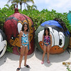 Evelyn and Heather at Castaway Cay