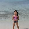 Heather having fun in the sand