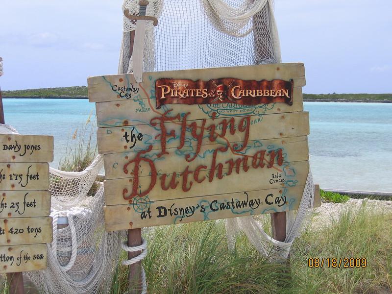 Flying Dutchman at Castaway Cay