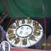 Looking at souveniers in China at Epcot